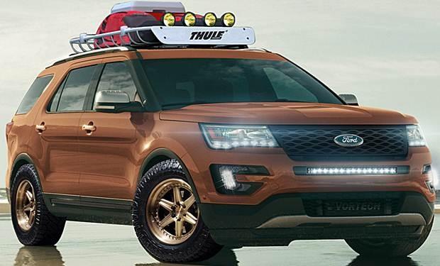 Ford Explorer GeneMarcel SEMA 2015