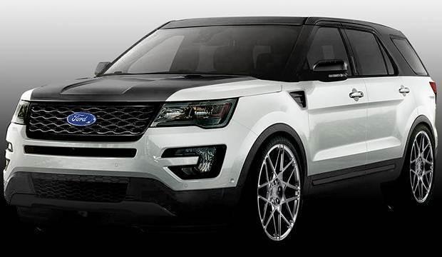 Ford Explorer MAD SEMA Show 2015