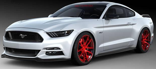 Motoroso Ford Mustang - SEMA Show 2015