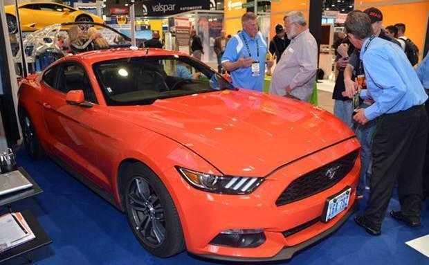 Ford Mustang - SEMA Show 2015  - evento de acessórios automotivos