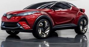 SUV compacto C-HR Concept é atração da Toyota em Los Angeles