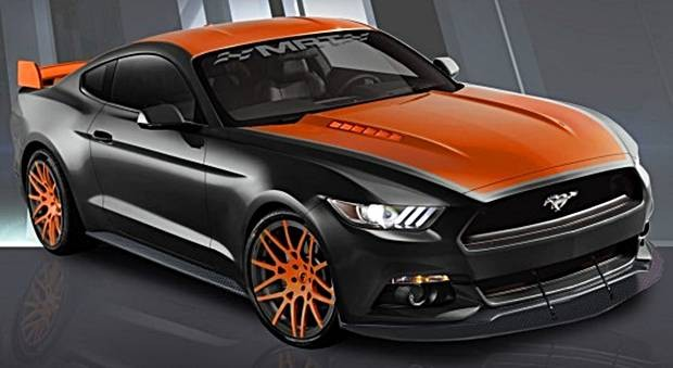 Ford Mustang MRT - Sema Show 2015