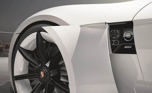 Porsche Turbo Charging - Porsche Mission E Concept