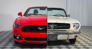 Exposição exibe fusão de duas gerações do Mustang