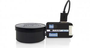 Interface de avisos sonoros, da Faaftech