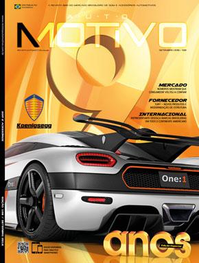 Capa da edição 108, de Setembro de 2016, da Revista AutoMOTIVO