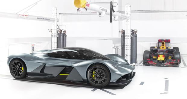 O objetivo é que o AM-RB 001 faça uma volta em Silverstone mais rápida que um F1.