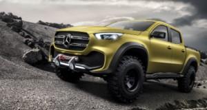 X-Class, a pick-up da Mercedes