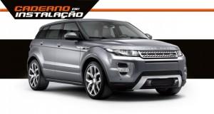 Range Rover Evoque: Instalando desbloqueio e câmera no sistema multimídia original