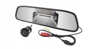 Retrovisor Espelho com Câmera de Ré 2×1, da RayX