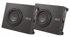 Caixa XS 400.3 Slim Amplificada 3 Canais, da Falcon