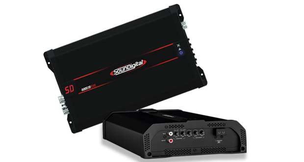 Amplificador 8000.1D EVO, da Soundigital