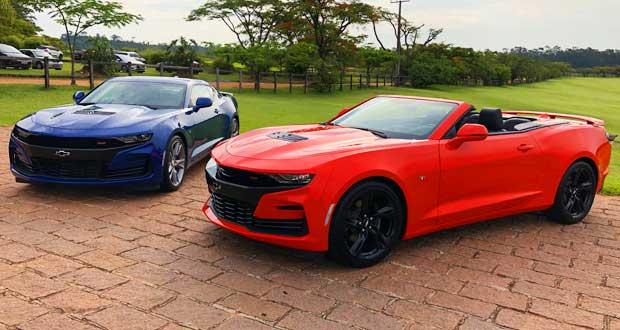 Chevrolet apresenta Camaro 2019, agora com câmbio de 10 marchas