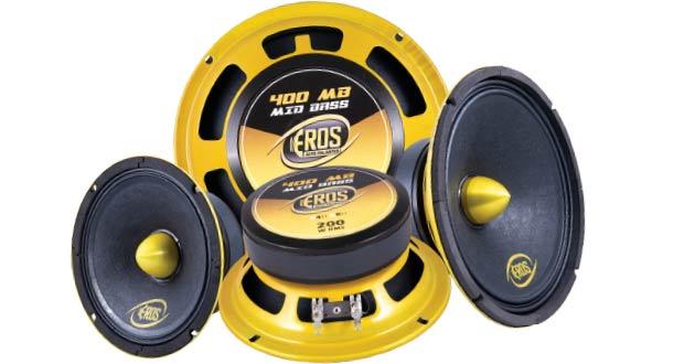 Alto-falante E6 400 MB, da Eros