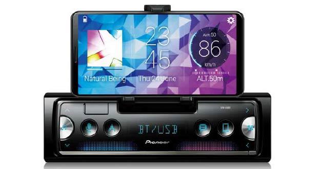 Smartphone Receiver SPH-C10BT, da Pioneer