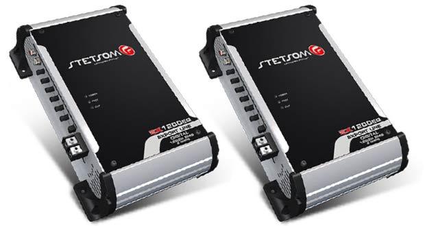 Amplificador EX 1200 EQ 2 OHMS, da Stetsom
