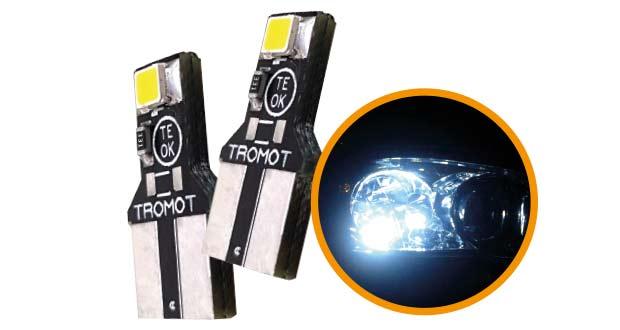 TLP01 LED Pingo T10, da Tromot