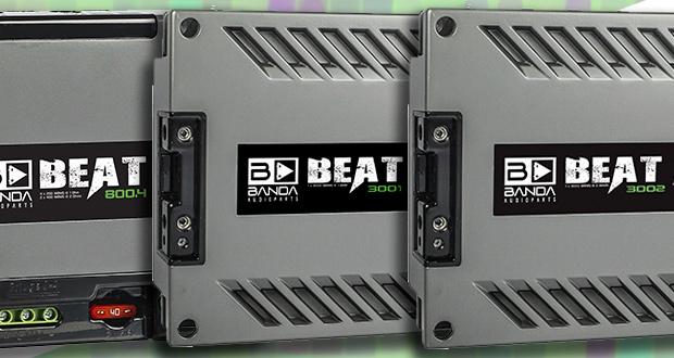 Linha BEAT  – a mais nova linha compacta de amplificadores da BANDA