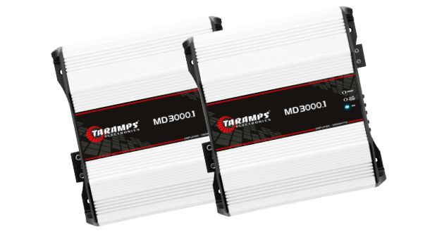Amplificador MD 3000.1, da Taramps