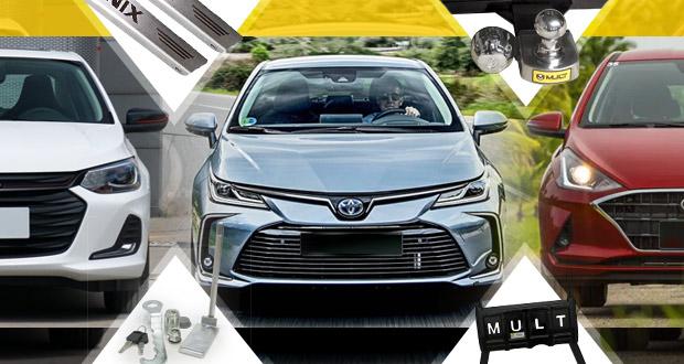 Mult Acessórios apresenta lançamentos para linhas de automóveis 2020