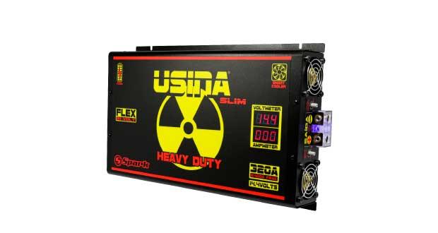 Fonte Usina Heavy Duty 320A Slim – Flex, da Spark Eletrônica