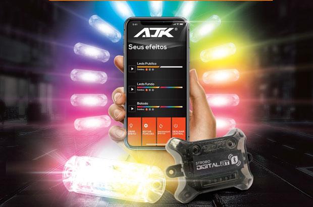 Empresa inova e apresenta Strobo Digital Bluetooth controlado por aplicativo