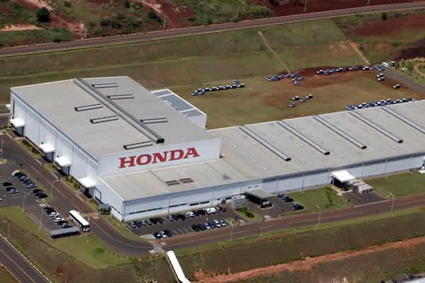 Honda define data de retorno às atividades produtivas
