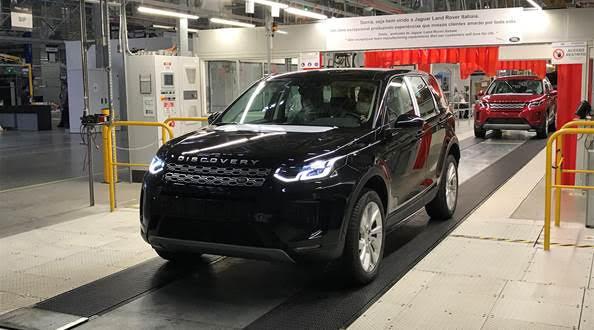 Land Rover Discovery Sport volta a ser produzido no RJ