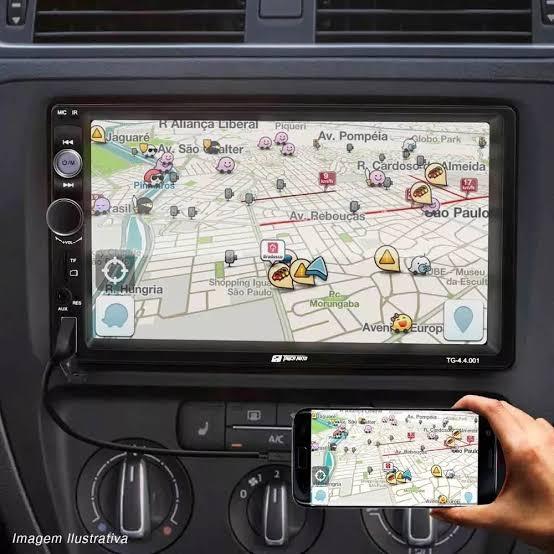 Tiger Auto lança multimídia com espelhamento para Android e Apple