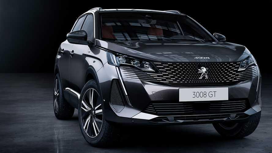 Peugeot 3008 e 5008 ganham novo visual na Europa