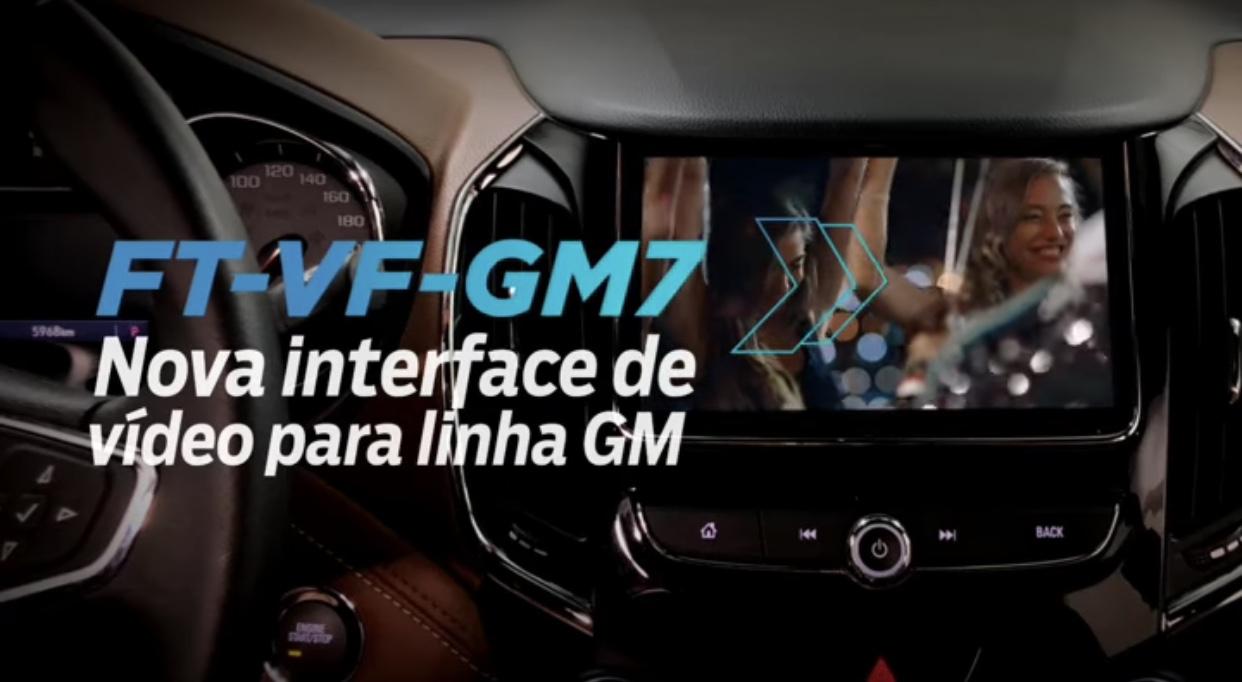 Faaftech lança nova interface de vídeo para linha Chevrolet