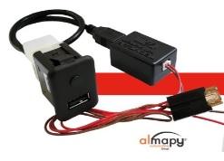 Techcar lança carregador rápido USB Charger