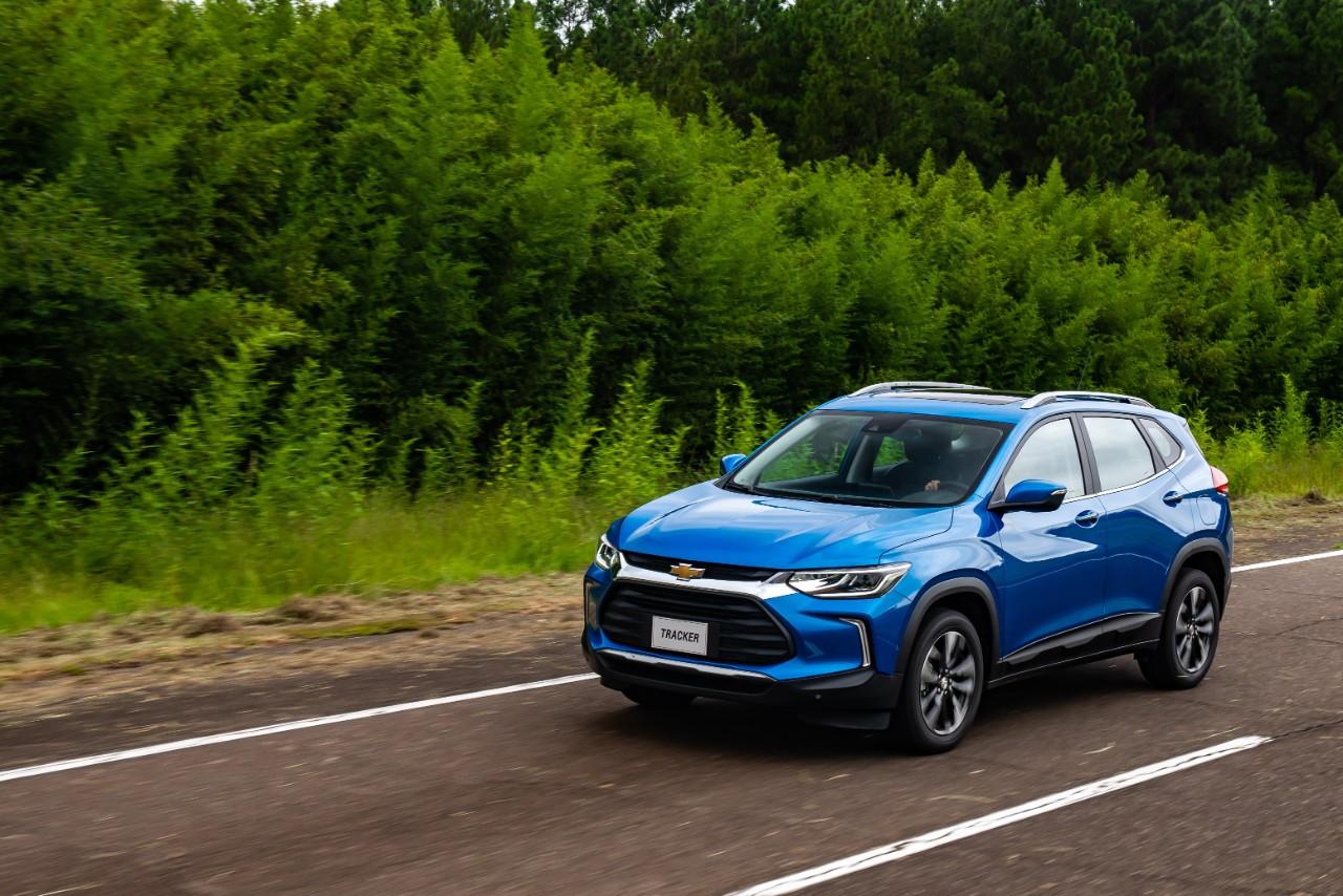 Acessórios para o Chevrolet Tracker 2021