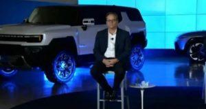 """GM """"vaza"""" SUV Hummer EV elétrico em apresentação"""