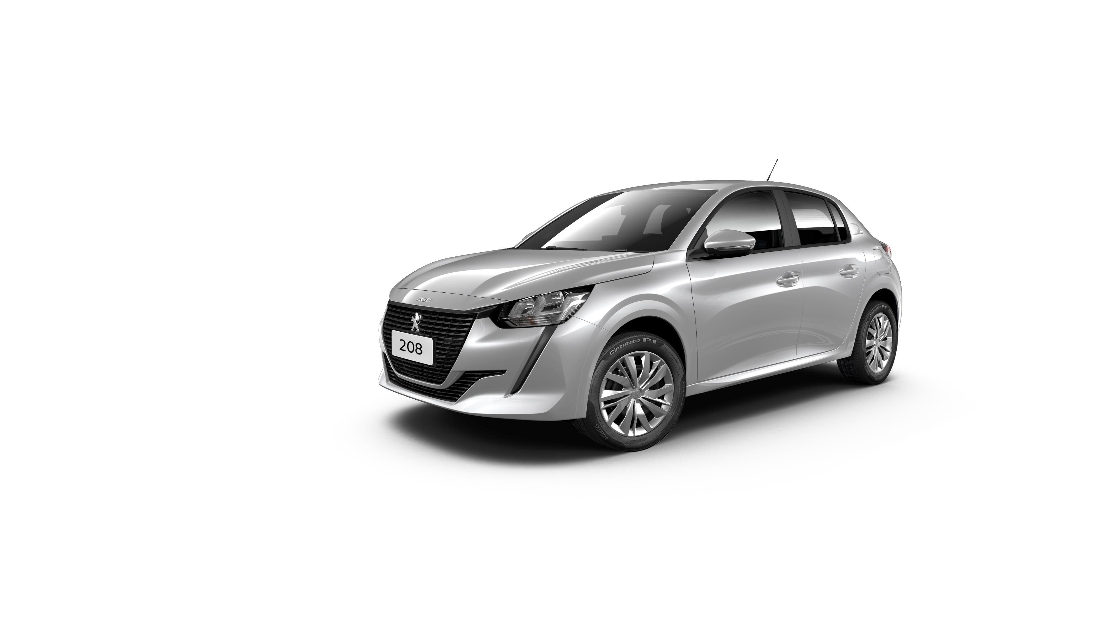 Novo Peugeot 208 ganha duas versões com câmbio manual e preço reduzido