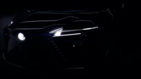 Lexus revela informações de veículo elétrico inédito