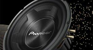 Pioneer apresenta subwoofer TS-W3090BR