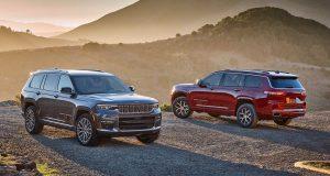 Jeep divulga informações do Grand Cherokee L 2021 nos EUA