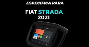 A Faaftech lança central multimídia para Fiat Strada 2021