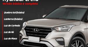 Tromot destaca kit de iluminação para Hyundai Creta