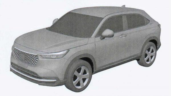 Imagens com novo visual do Honda HR-V 2022 vazam na internet