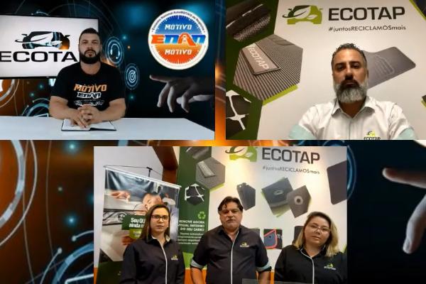 Ecotap apresenta uma variedade de produtos no primeiro Webinar ENAN 2021