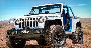Jeep mostra Wrangler Magneto com inédito motor elétrico: conheça