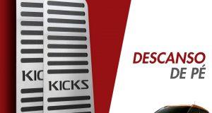 GPI Automotive destaca descanso de pé para Nissan Kicks
