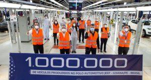 Jeep celebra 1 milhão de veículos produzidos em Pernambuco