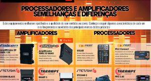 Processadores e Amplificadores; Semelhanças e Diferenças