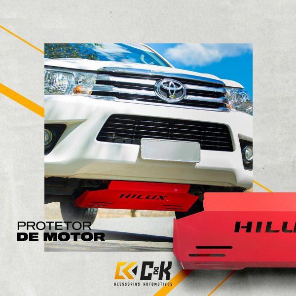 C&k Acessórios destaca protetor de cárter para Toyota Hilux