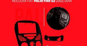 Fiamon destaca moldura para Fiat Palio 2002/2014