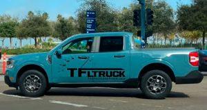 Pick-up Ford Maverick é vista sem camuflagem nos EUA