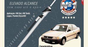 Olimpus destaca antena 9000 para veículos clássicos